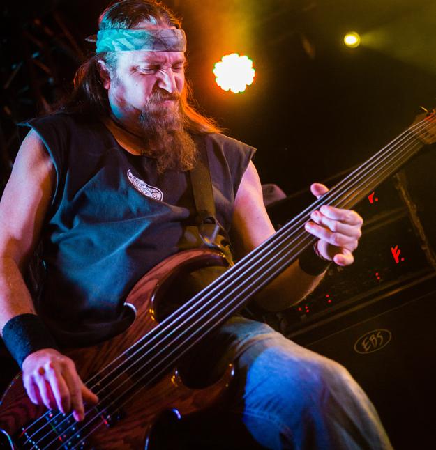 Steve Di Giorgio, from the recent Death Dta tour. Photo by Daniel Falk.