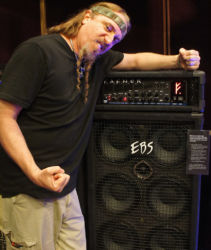 Testament's Steve Di Giorgio looking forward to bring this brutal rig on tour with the band this fall!