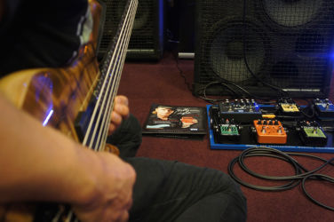 Cody Wright messing around with EBS pedals.