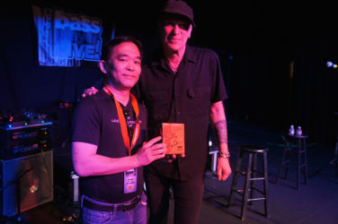 Jiro Tanaka - lucky winner of an EBS Billy Sheehan Signature Deluxe pedal!